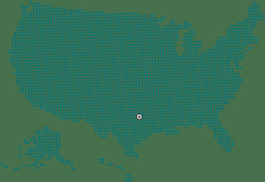CZG US Dot Map Dallas
