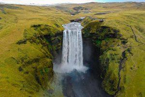 Waterfall Flowing